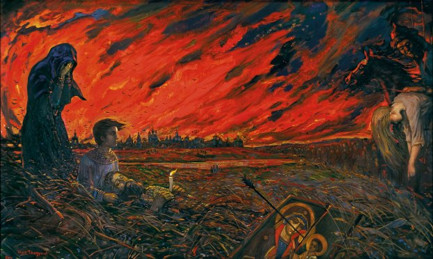 Иља Глазунов: ИНВАЗИЈА (Детињство Андреја Рубљова)