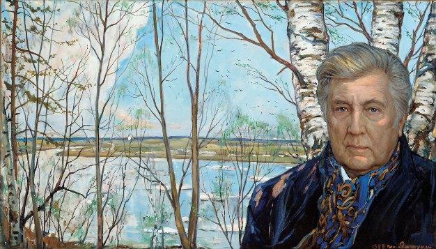 Иља Глазунов: АУТОПОРТРЕТ, 1999.