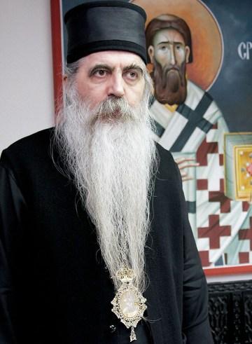Његово Преосвештенство Епископ новосадски и бачки, сомборски и сегедински Господин др Иринеј