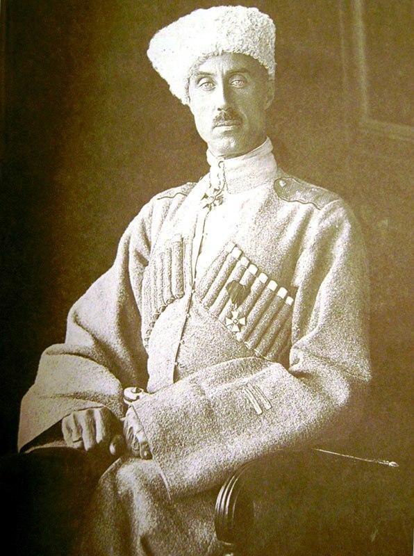 Барон Петар Николајевич ВРАНГЕЛ, генерал и вођа антибољшевичког покрета у Руском грађанском рату после Октобарске револуције (1878 - 1928)