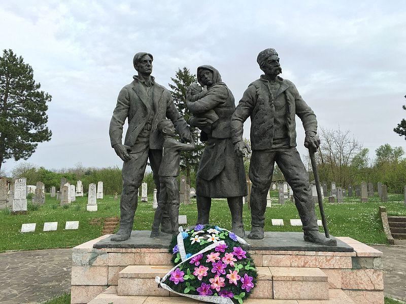 Споменик жртвама бугарских фашиста у Бојнику, Јабланички округ